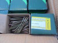 wood screws 5 x 80mm 100 screws per box brand new
