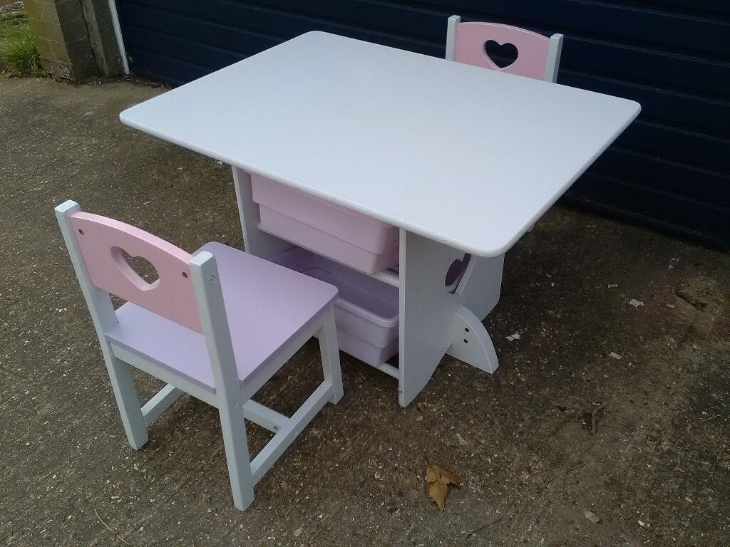 bits and pieces furniture. Table And 2 Chair For Nursery Or Playroom With Storage Bits Pieces In Good Condition | Watford, Hertfordshire Gumtree Furniture