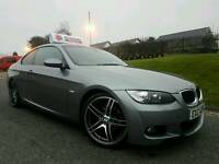 SORRY NOW SOLD!! July 2009 BMW 320d M Sport Highline Coupe, Tan Dekota Leather! Xenons!