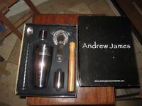Andrew james brand new cocktail set
