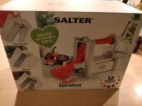 BRAND NEW SALTER SPIRALIZER - unwanted housewarming gift