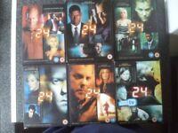 Seasons 1-6 of 24