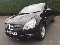 \\\ 07 NISSAN QASHQAI ACENTA 1 .6 \\\ EXCELLENT CONDITION \\\ ONLY £3499