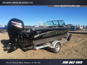 2017 Lund Boat Co 1800 TYEE BLACK/SILVER