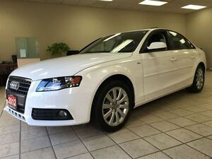 2012 Audi A4 2.0T AWD | S-LINE | LEATHER | ROOF
