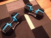 Men's Health Adjustable Dumbbells set 2x 25kg