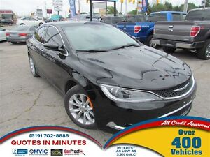 2015 Chrysler 200 C | NAV | LEATHER | SUNROOF | BACKUP CAM