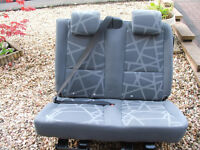 Transit connect rear double seat