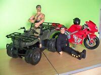 Action Man and Quad Bike Set.