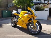 Ducati 748R year 2000 UK bike 9.2K miles