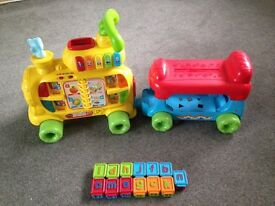 Vetch Alphabet Train toys ride on children's