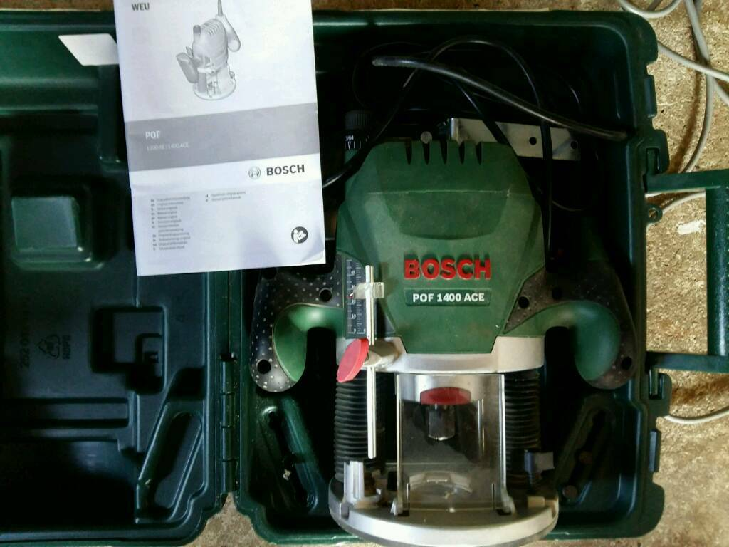 Bosch pof 1400 ace router in kings lynn norfolk gumtree bosch pof 1400 ace router greentooth Images