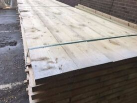 🌟 Brand New German White Timber / Wood Scaffold Boards
