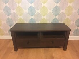 TV unit with two drawers