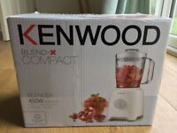 Kenwood blender. Still in box, immaculate condition, never been used. Unwanted Christmas present.