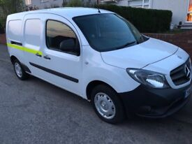 Mercedes citan van FULL SERVICE HISTORY see pics low mileage white 1.5