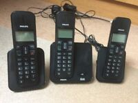 Phones for Home/Office - Philips SE170 home phone set with spare base and handset