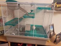 Free to good home 2 gerbils and a cage free to good home