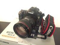 Canon 5D mkIII + 24-105L IS lens , boxed VGC