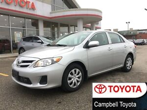 2013 Toyota Corolla CE LOCAL TRADE---1 OWNER--LOW KM'S