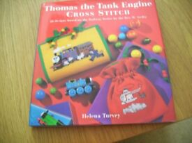 Thomas The Tank Engine Cross Stitch Craft Book