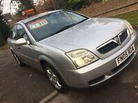 Vauxhall Vectra 1.8 petrol LOW MILES 70k ***bargain***