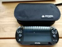 Ps vita slim with case