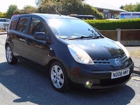 Nissan Note 1.5 dCi SVE 5dr£1,399 p/x welcome 3 OWNERS,FULL SERVICE,LONG MOT