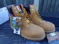 Brand new V12 honey colour Work / Leisure boots