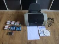 Epson stylus c82 printer and ink