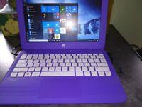 """HP Stream 11.6"""" purple laptop"""