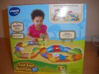 Toot-Toot 27 interchangeable track pieces with 3 animals
