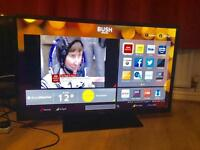 "40"" BUSH SMART TV WIFI FULL HD USB."