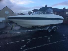2000 Bayliner 2352 Capri 5.7 v8 24ft boat