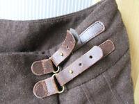 Brown hippy Skirt