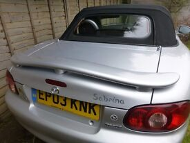 MAZDA MX5 ANGELS EXCELLENT CONDITION THROUGHOUT SPECIAL LIMITED EDITION