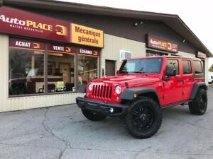 2015 Jeep Wrangler Unlimited Rubicon Édition Hardrock