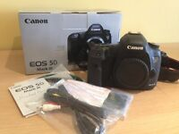 Canon 5D III body only - boxed with all *accessories*