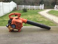 Hitachi handheld petrol leaf blower - free stihl oil