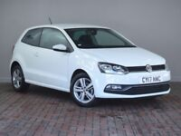 VOLKSWAGEN POLO 1.2 TSI Match Edition 3dr (white) 2017