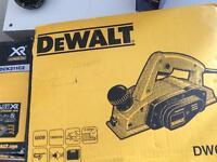 Dewalt planer brand new never used , over 130 in shops