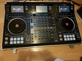 Pioneer ddj rzx with flight case