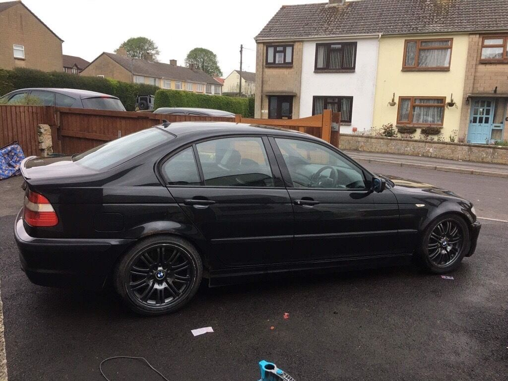 bmw 330d m sport black e46 in frome somerset gumtree. Black Bedroom Furniture Sets. Home Design Ideas