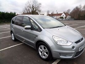 Ford S-Max 1.8 TDCi Zetec 2007. 7 seater. Recently serviced. MOT May 2017.