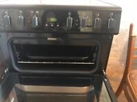 Belling double oven fan cooker ...as photos show used but in very good condition