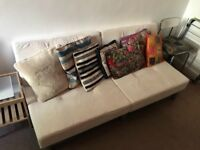 Sofa bed - very good condition hardly used - £40
