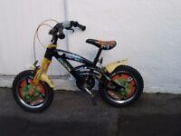 "boys bike 15"" wheels"