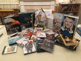Joblot - Bootsale - CDs DVDs DS Xbox Games - Ornament - Board Game - Book Star Wars - Books