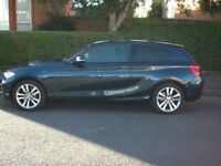 BMW 116d Sport, 2015(65), Auto, 3 Door, Blue, FSH