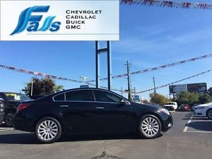 2013 Buick Regal Turbo, LOCAL TRADE, LEATHER, SUNROOF